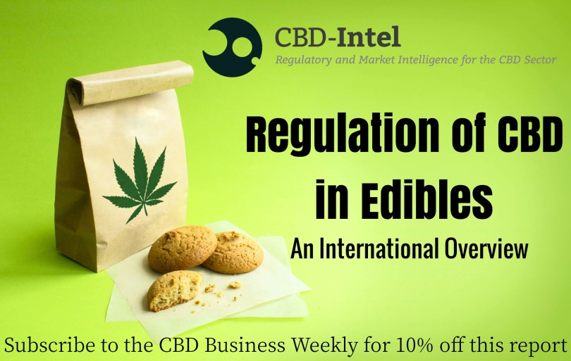 CBD edibles regulation