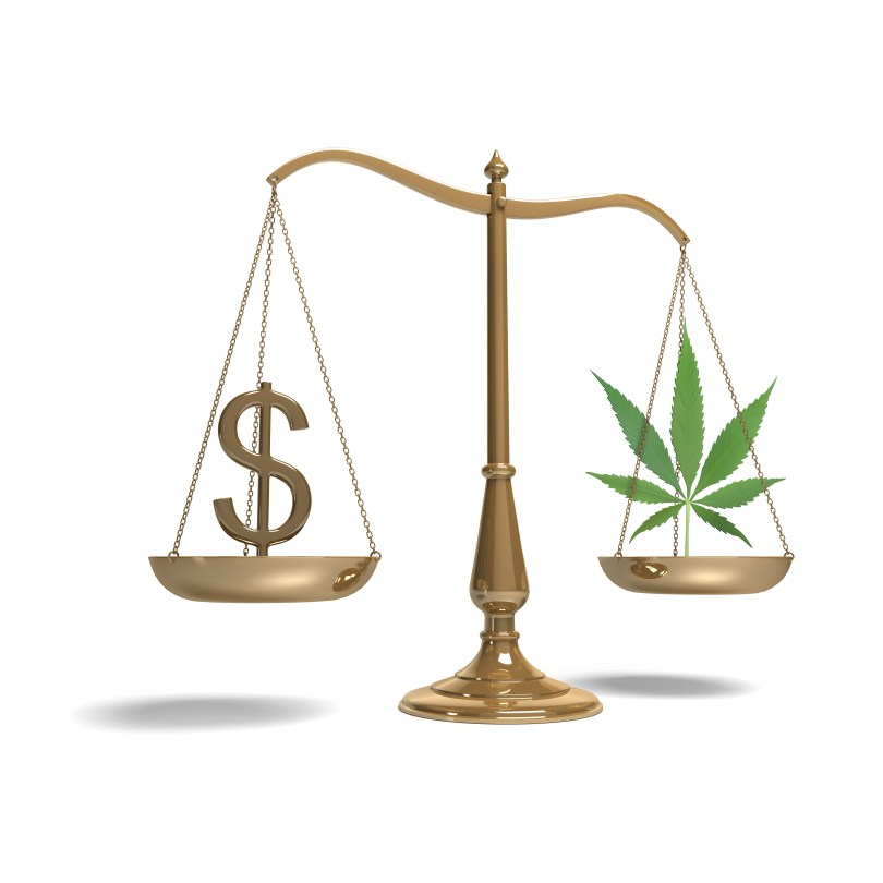 price of cannabis