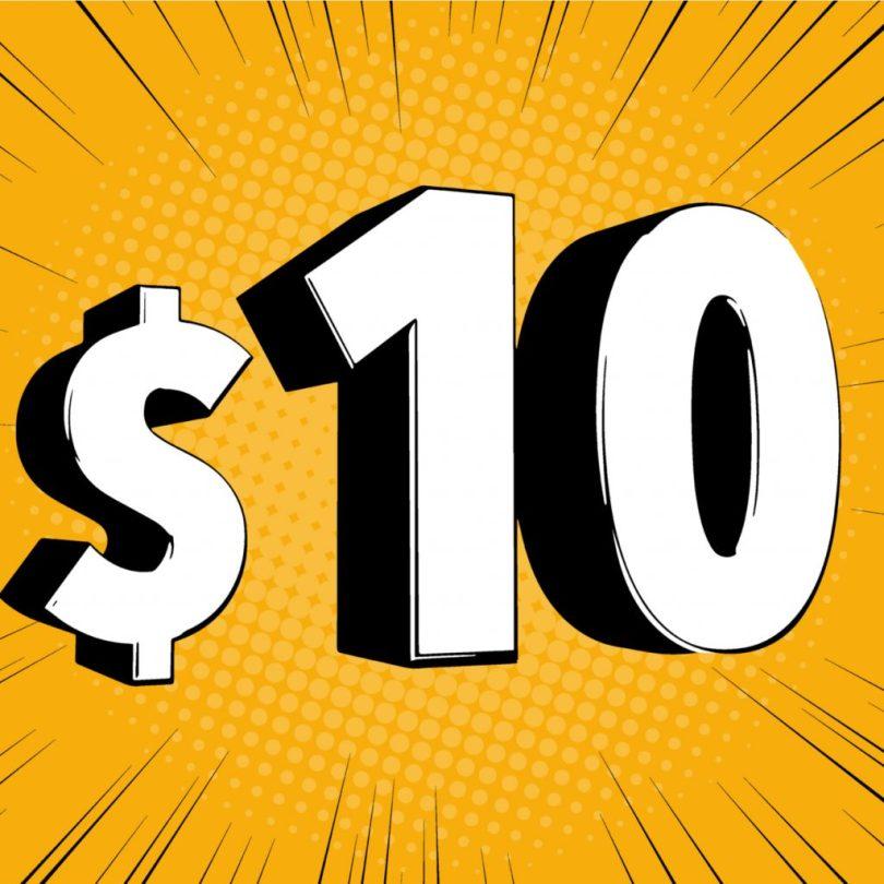 $ 10 Vollspektrum Delta 8 THC Tinkturen