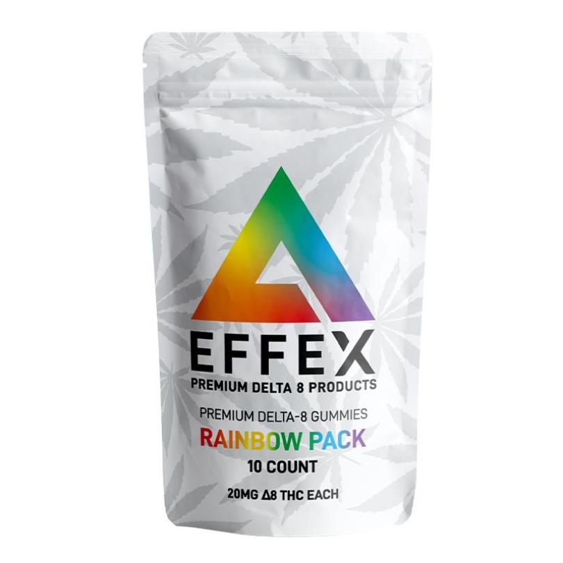 Rainbow Pack Premium Delta 8 Gummies - 35% Off