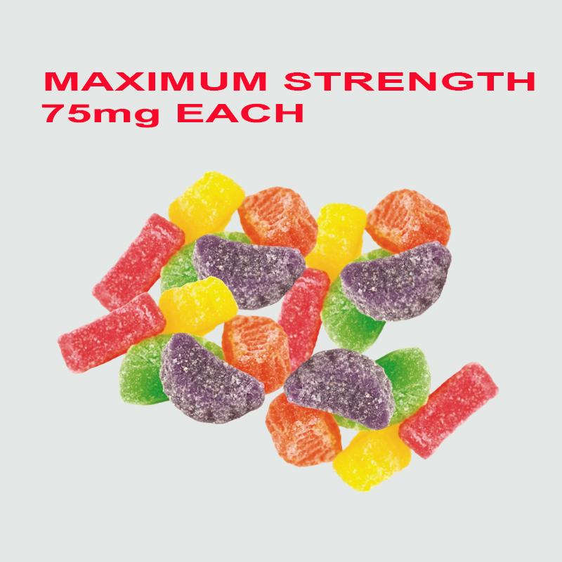 Maximum 75 mg Delta 8 THC