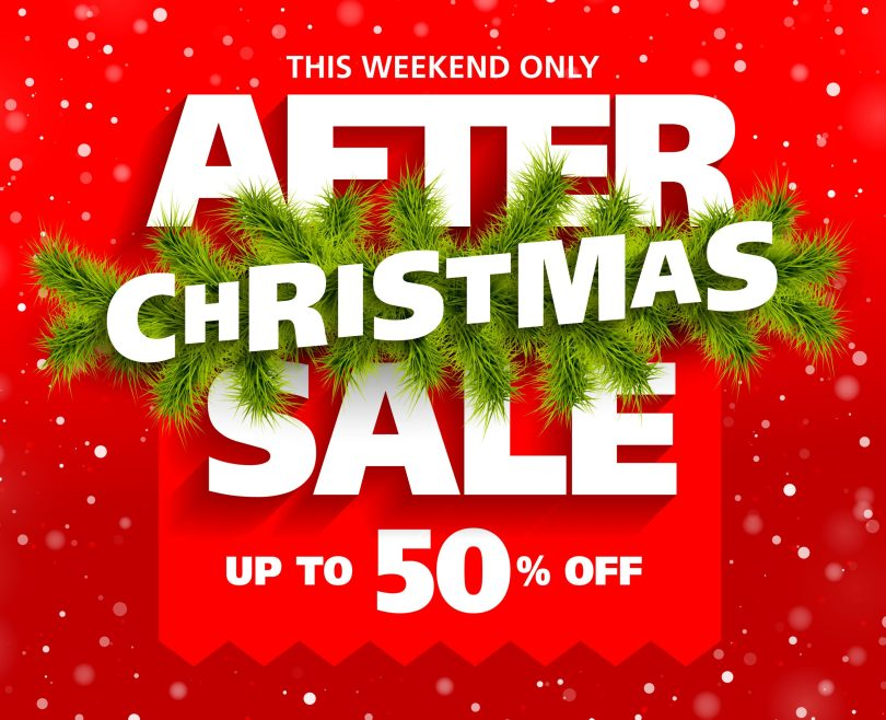 After-Christmas Sale