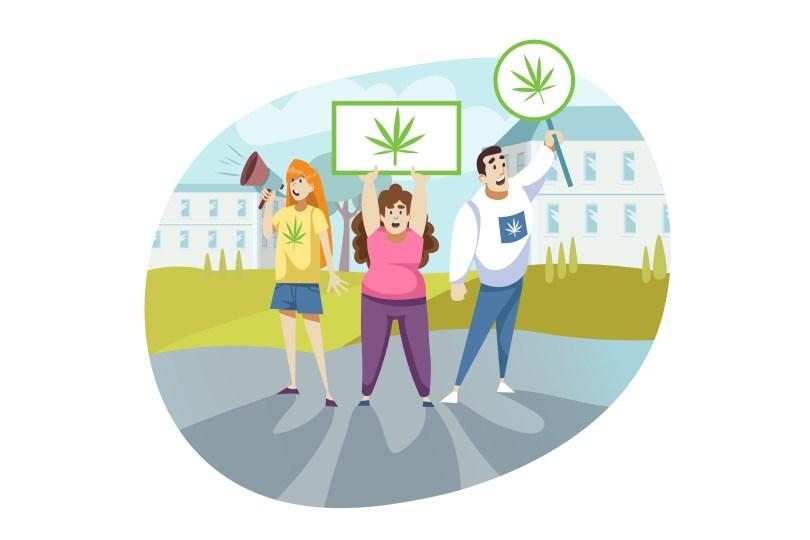 cannabis activists