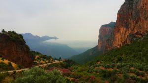Riff mountains Morocco