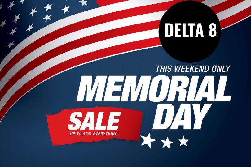 Delta 8 Memorial Day Deals
