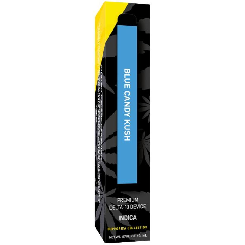 Blue Candy Kush Delta 10 THC Disposable Vape - INDICA