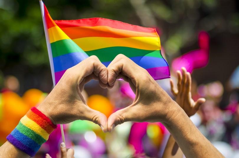 get high pride parade