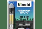 THC-O vape cartridges Blue Zkittlez