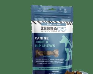 zebra cbd canine chews