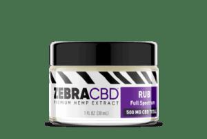 zebra cbd rub