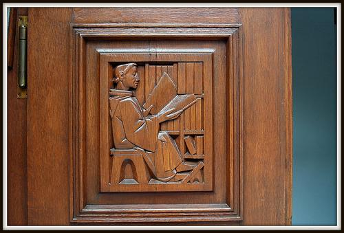 Library Door, St. Gall (Photo credit: Steven Wagner)