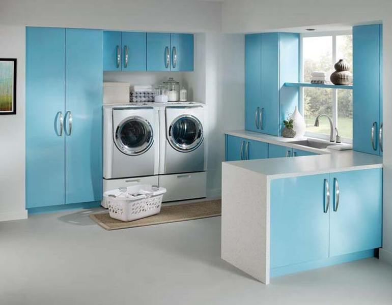 best basement laundry room flooring
