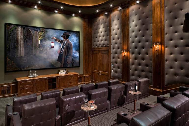 Gorgeous Style Basement Home Theater Ideas