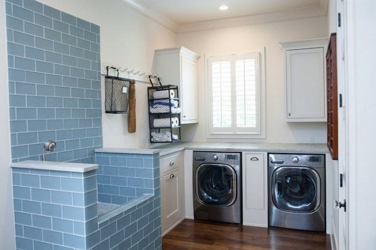 cheap basement laundry room ideas