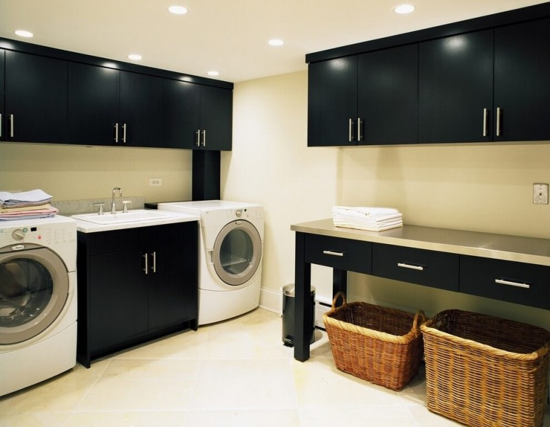 Basement Laundry Room Design