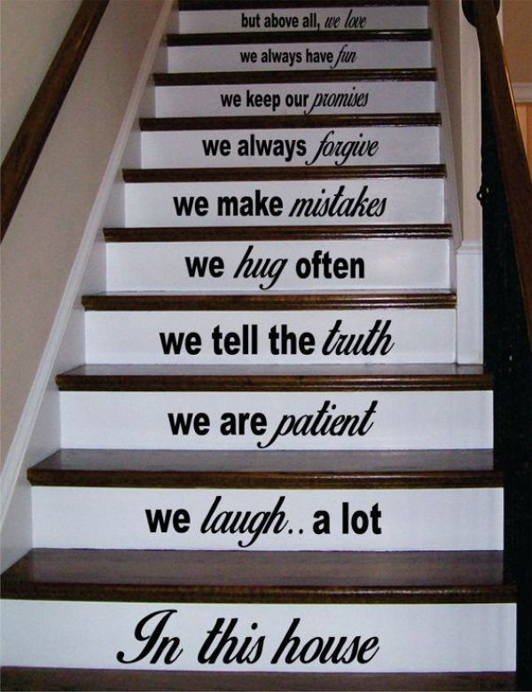 Paint Staircase Decals