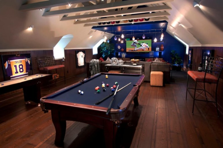 cool ideas for a video game room