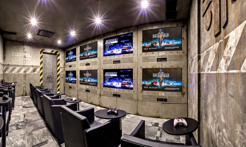 17 most popular video game room ideas feel the awesome Free play home decoration games