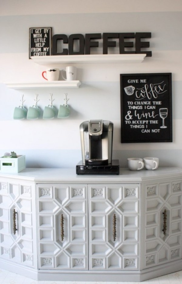 French's Style Coffee Station  Ideas