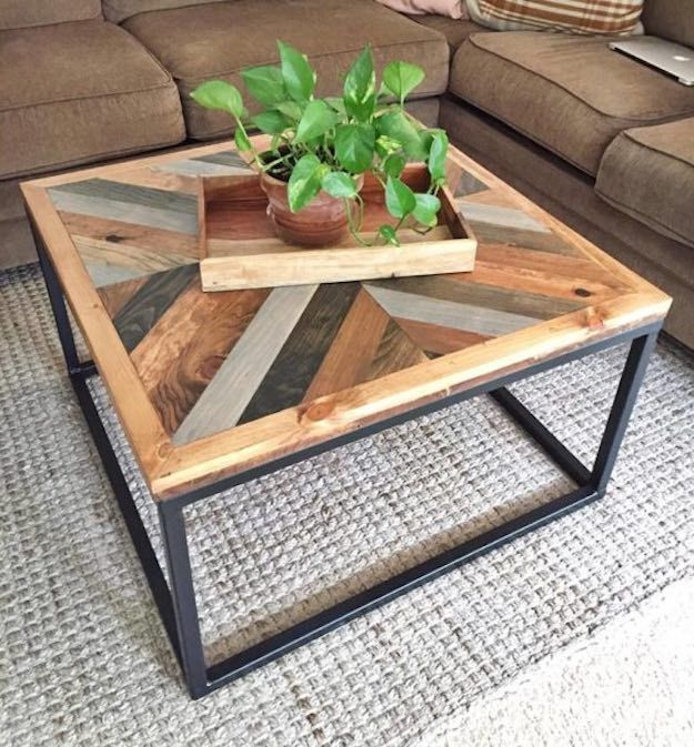 Multi-toned Coffee Table