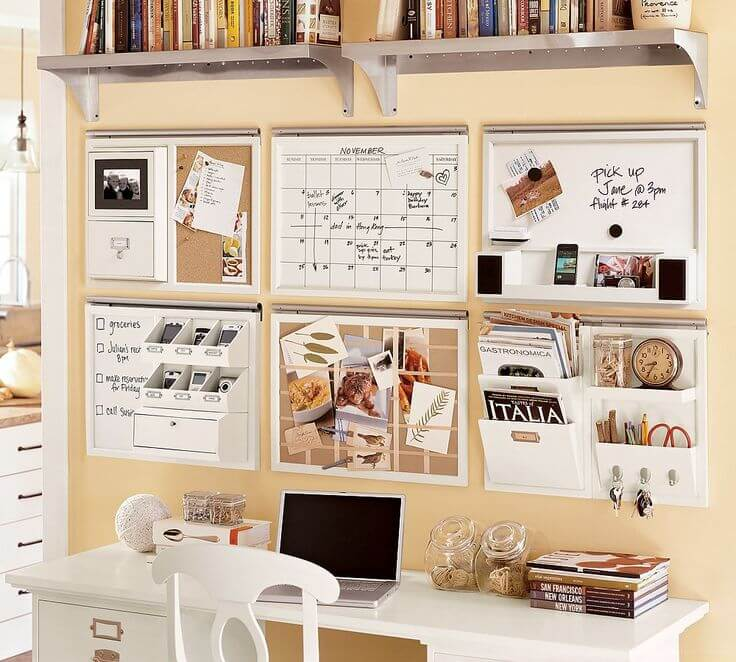 Lovely Cork Board Ideas For Home Office