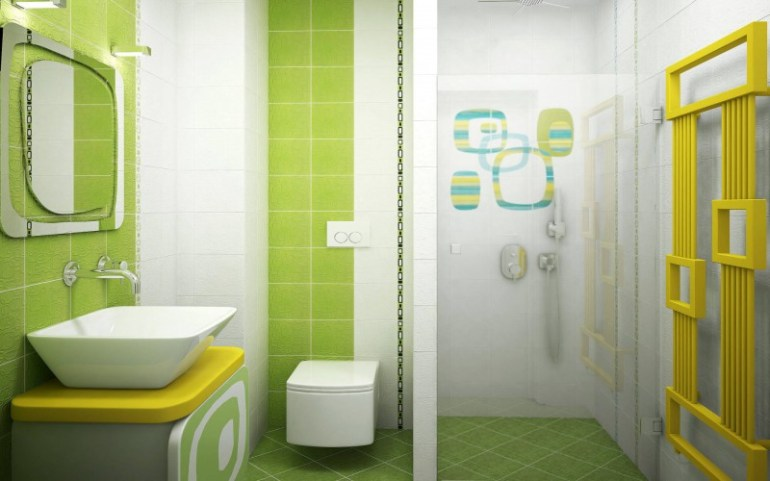 green kids bathroom ideas - Bathroom Designs Kids