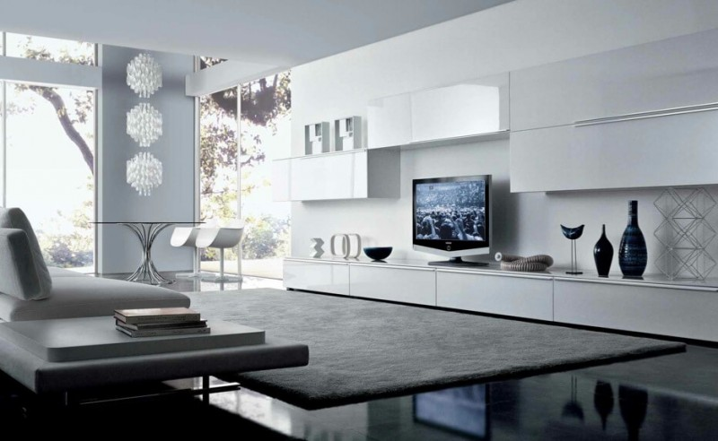 Attractive Minimalist Living Room