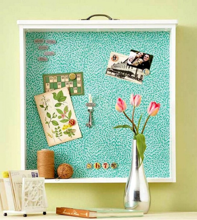 cork board ideas for pictures