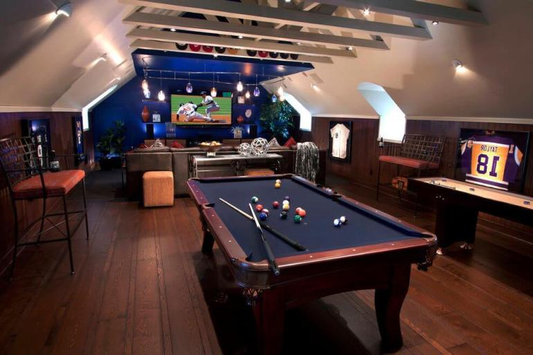 bonus sports room ideas