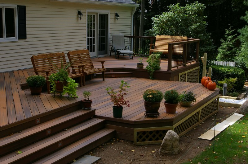 15 Superb Deck Design Cool Deck Skirting Ideas For Every