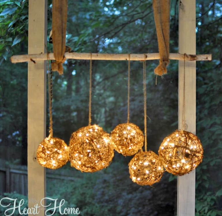 Garden Chandelier Light