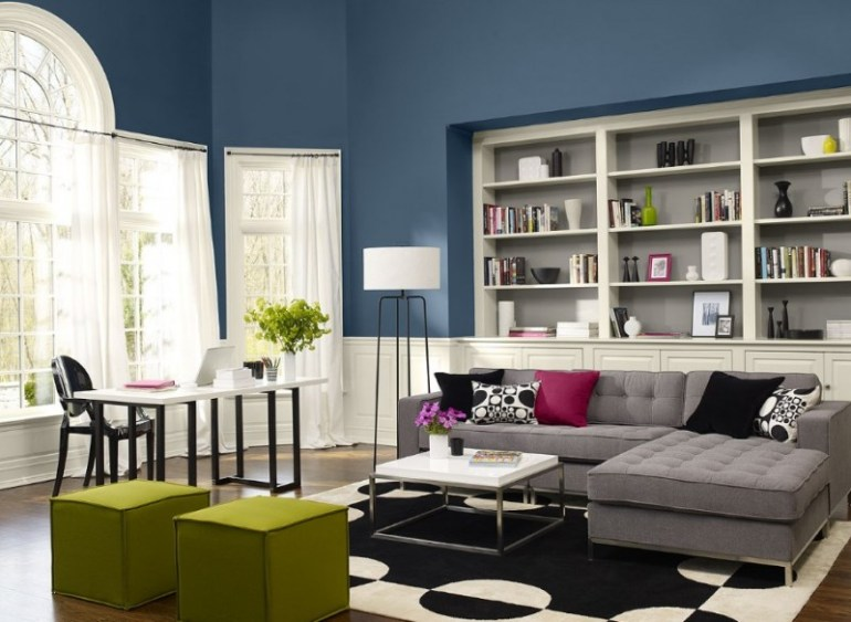 Simple yet Elegant Living Room Color