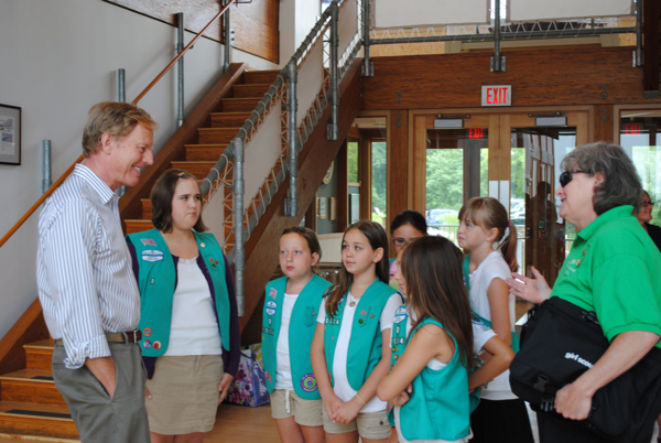 Chesapeake Bay Foundation Blog: Junior Girl Scouts Defend ...