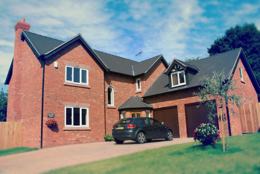 new-home build in Cheshire
