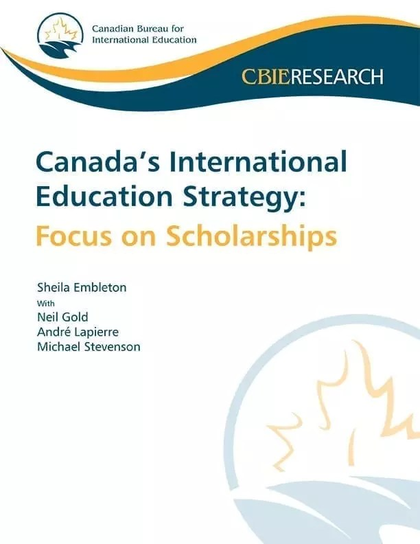 Canada's International Education Strategy: Focus on Scholarships