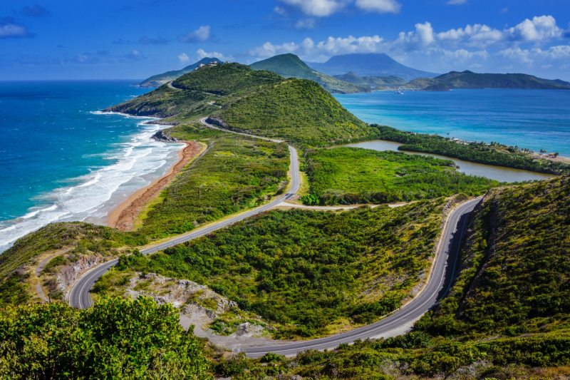 Saint Kitts nevis caribbean islands
