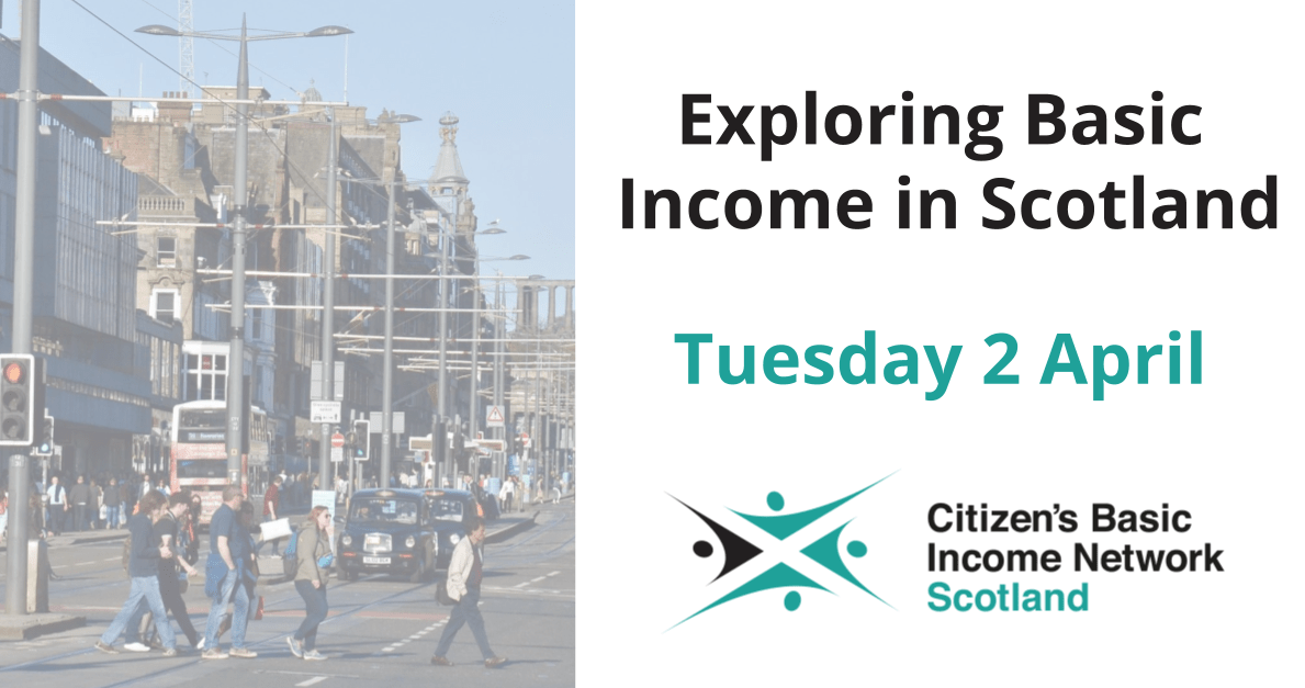 Exploring Basic Income in Scotland Project Launch