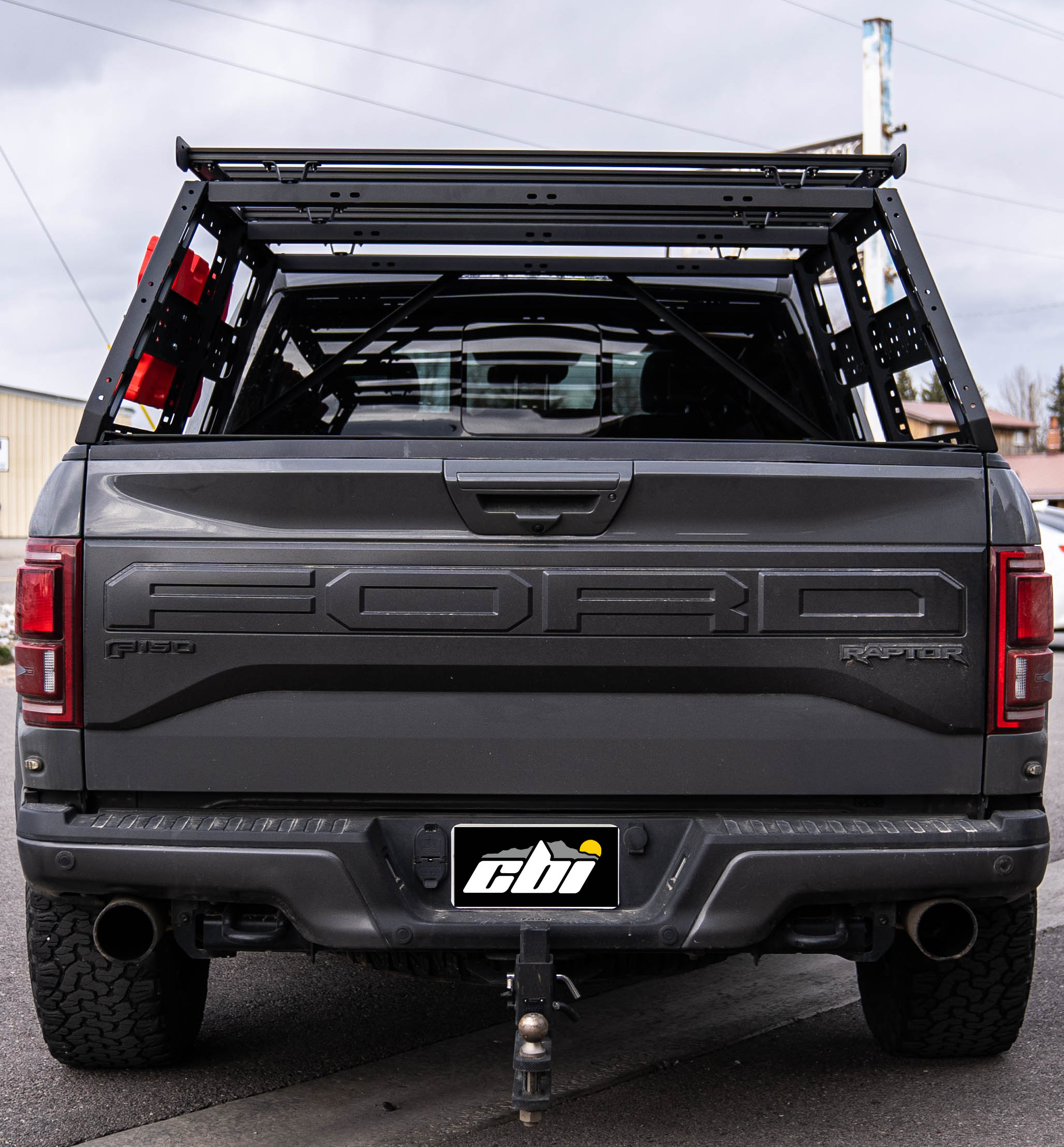ford raptor cab height bed rack 5 6 bed length 2010 2021