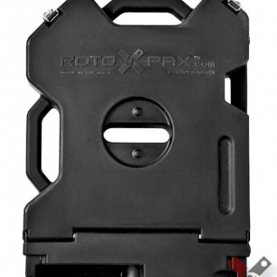 RotoPax 2 Gallon Storage Black