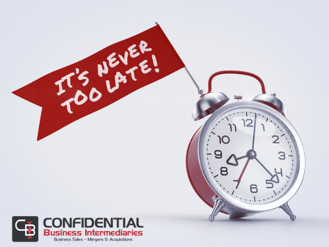 Read more about the article It's Never Too Late To Plan For The Unexpected & The Eventual Sale Of Your Business