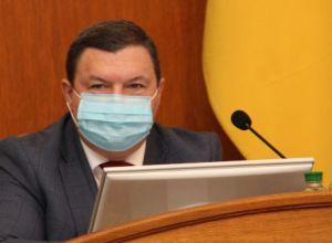 Голова Кіровоградської облради Сергій Шульга