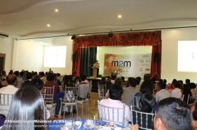 M2M's resident host, Pastor Gene de Leon.