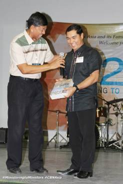 Pastor Ricky Cruz, AMMNE Chairman