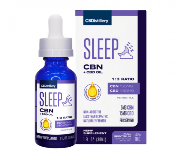 cbn sleep cbdisillery