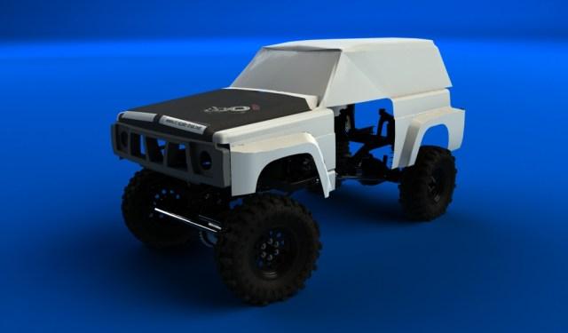 patrol y60 sur chassis scx10