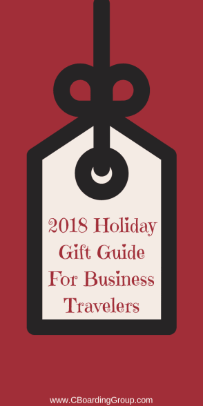 2018 Holiday Gift Guide For Business Travelers