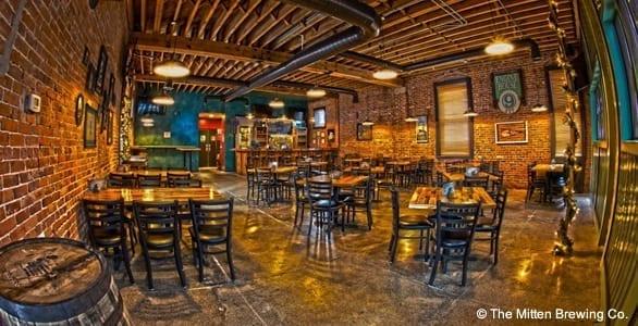 Interior: Mitten Brewing Co