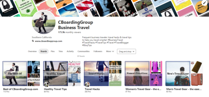 CBoardingGroup on Pinterest - Blog Tips
