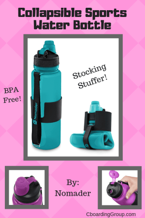 Collapsible Sports Water Bottle - Best Travel Gifts for her