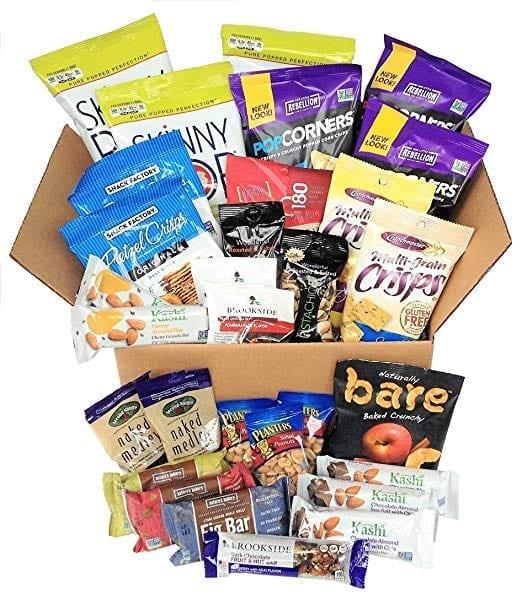 Healthy Travel Snacks Bulk Box